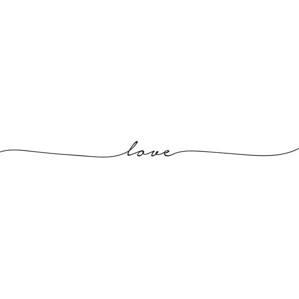 Adesivo de Parede To Love