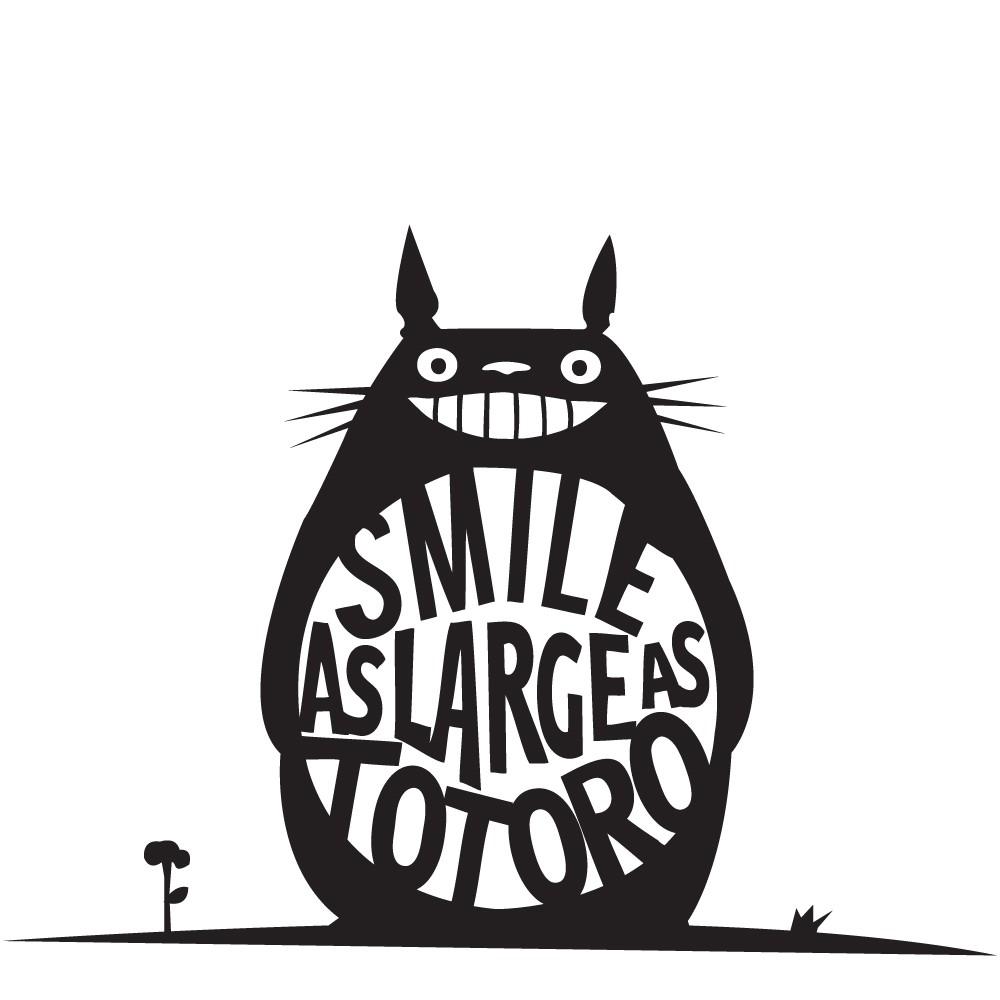 Adesivo de Parede Totoro