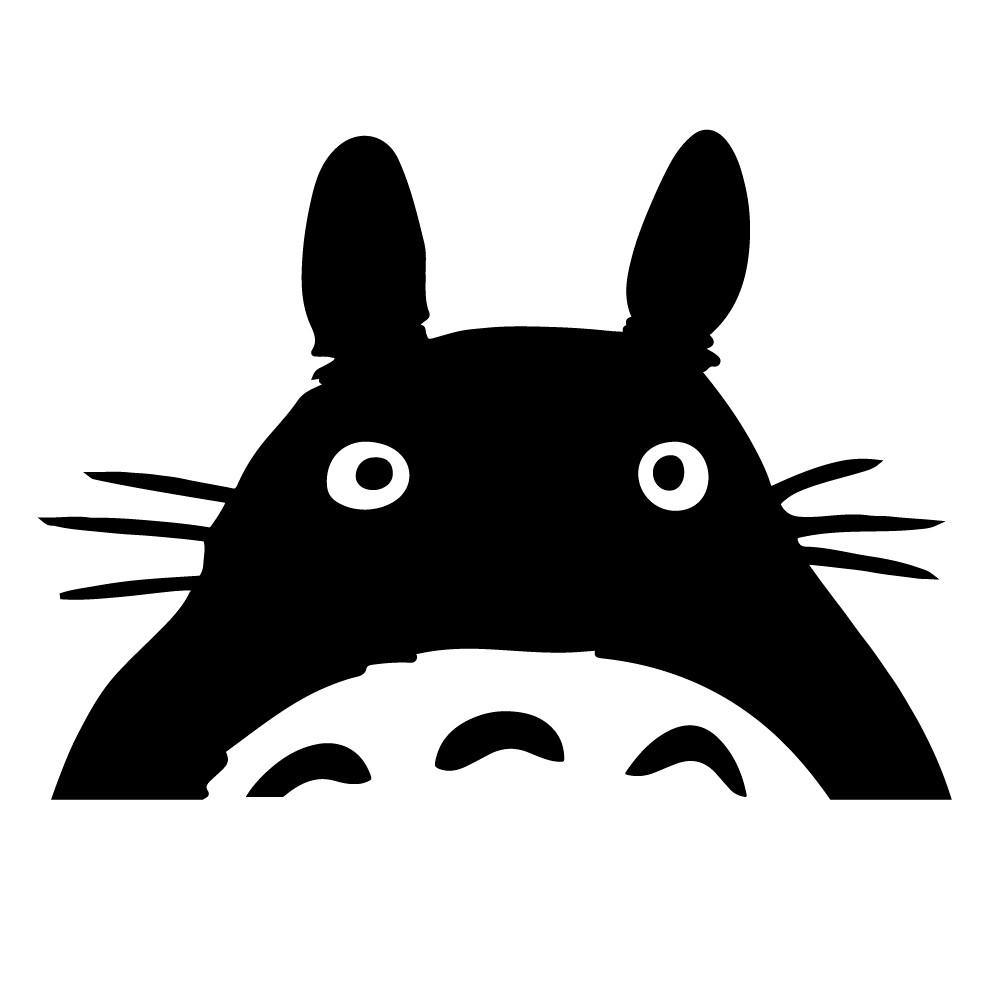 Adesivo de Parede Totoro Interruptor