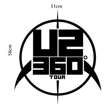 Adesivo de Parede U2 360o II