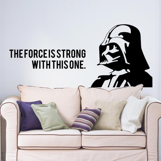 Adesivo de Parede Vader Star Wars