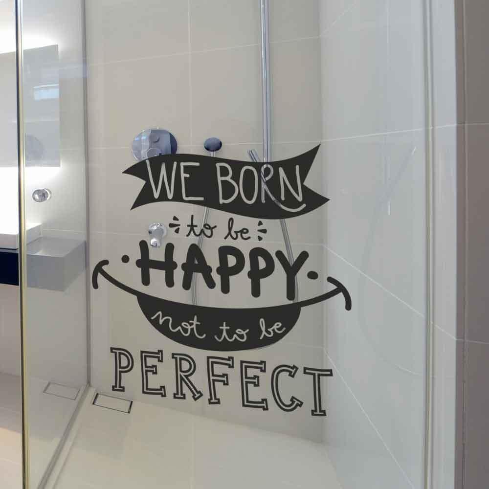 Adesivo de Parede We Born to Be Happy
