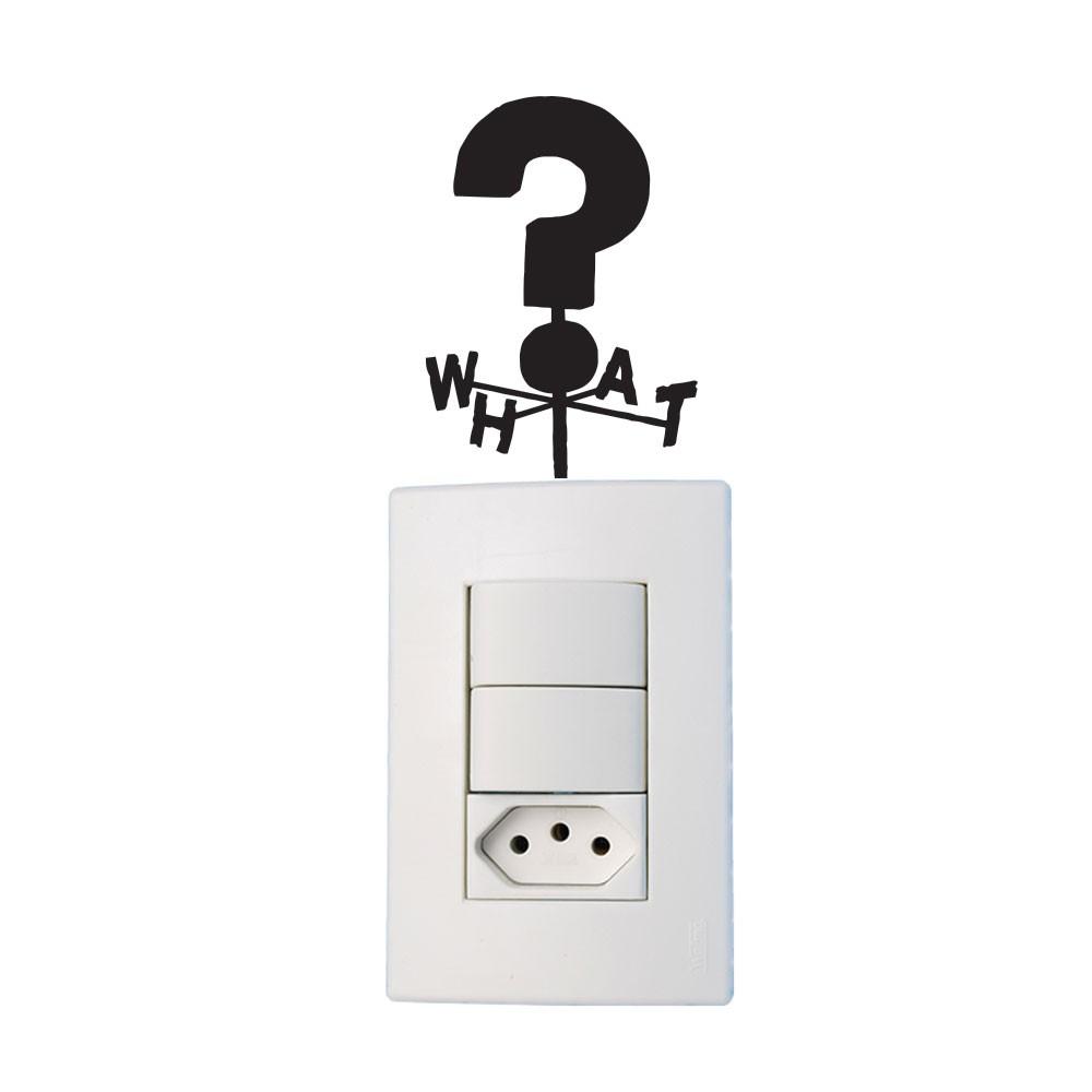 Adesivo de Parede What Gravity Falls Interruptor