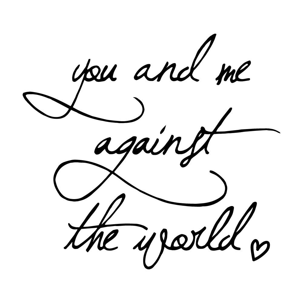 Adesivo de Parede You and Me