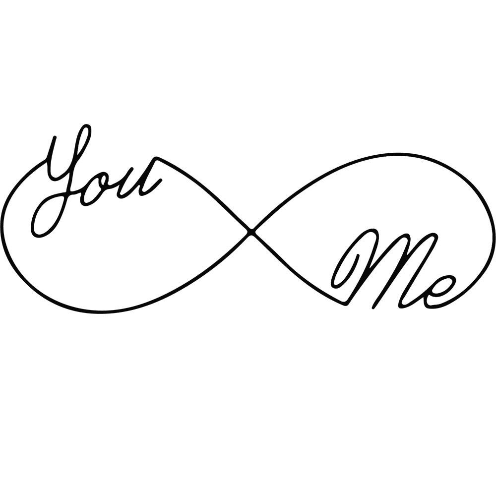 Adesivo de Parede You And Me Infinite