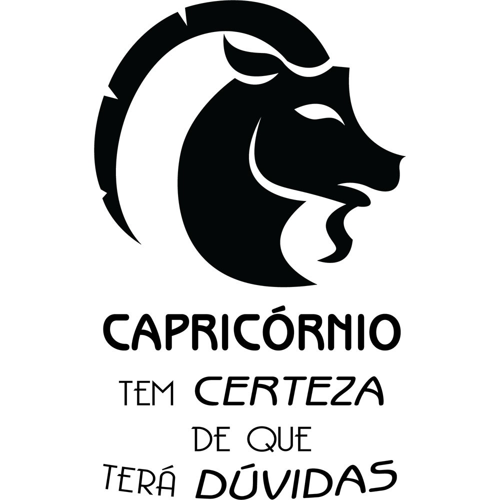 Adesivo de Parede Zodíaco Capricórnio