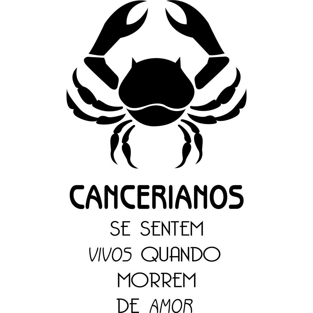 Adesivo de Parede Zodíaco Cancerianos