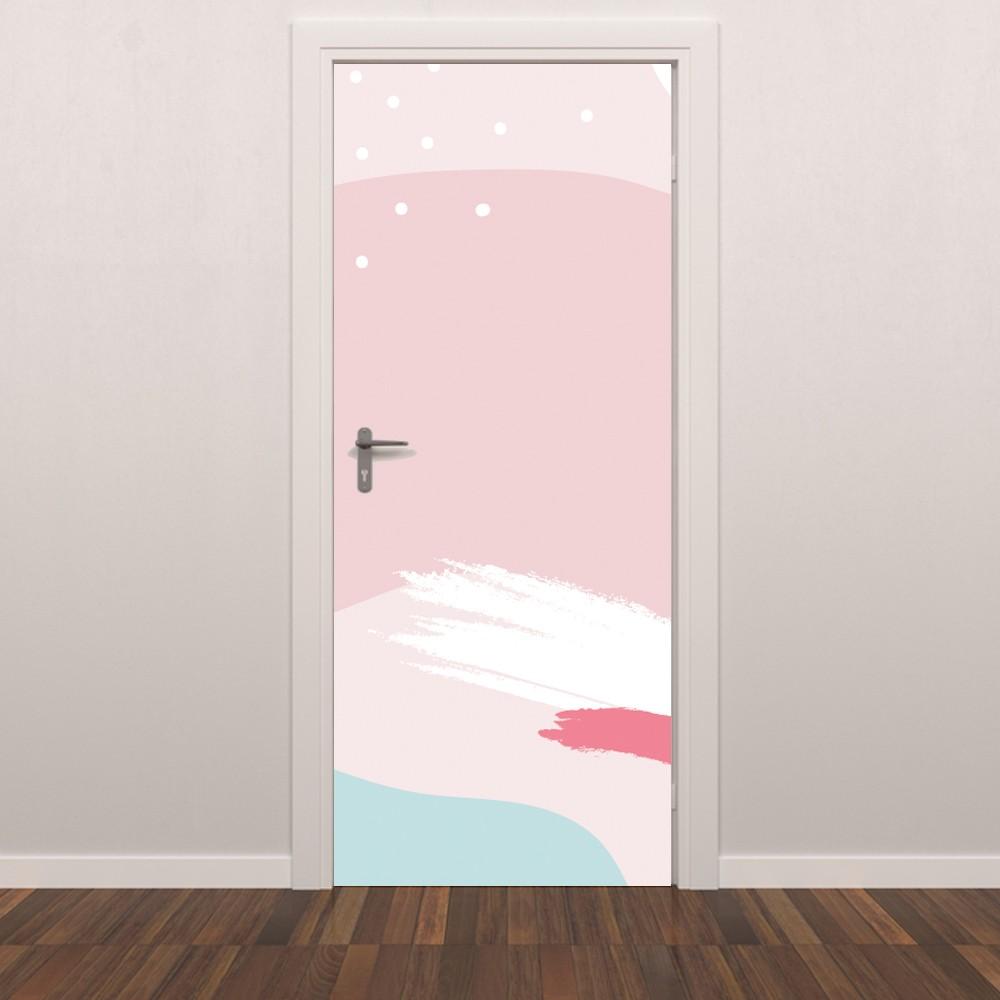 Adesivo de Porta Sonho de Menina