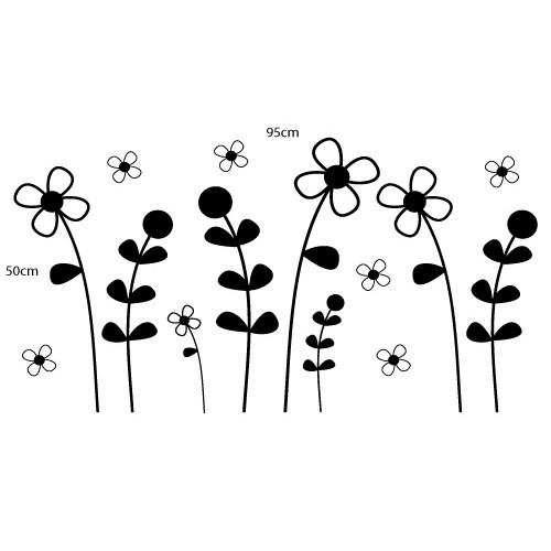 Adesivo Floral Flores