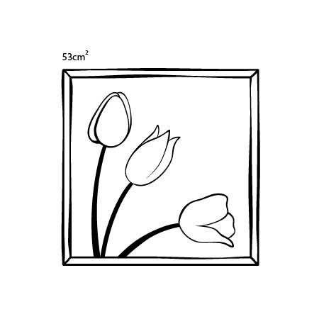 Adesivo Floral Life