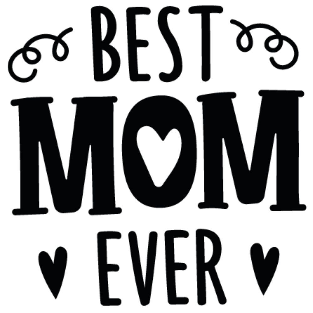 Adesivo para Carro best Mom Ever II