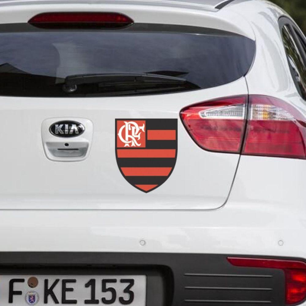 Adesivo para carro Escudo Flamengo