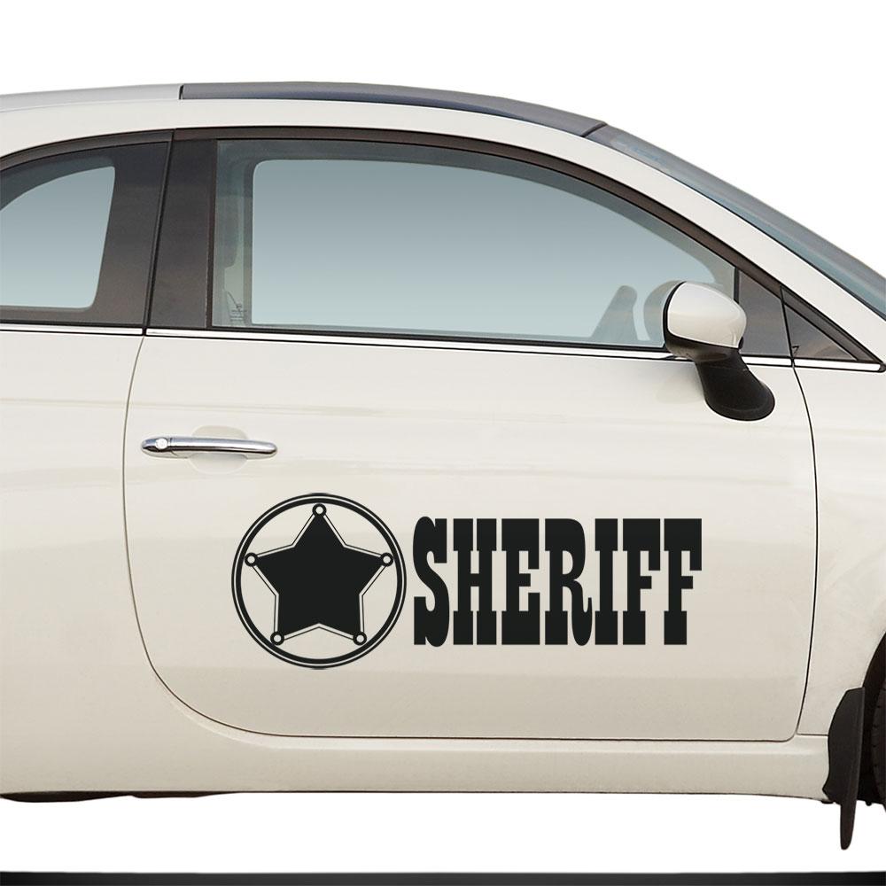 Adesivo para Carro Sheriff