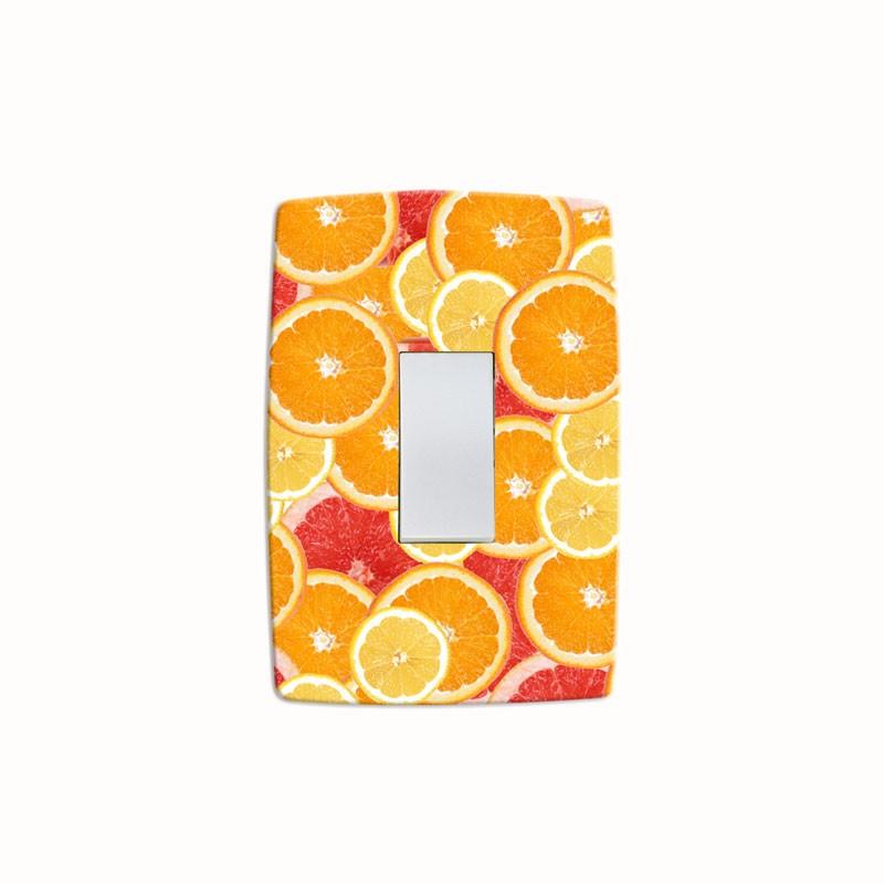 Adesivo para Interruptor Citrus