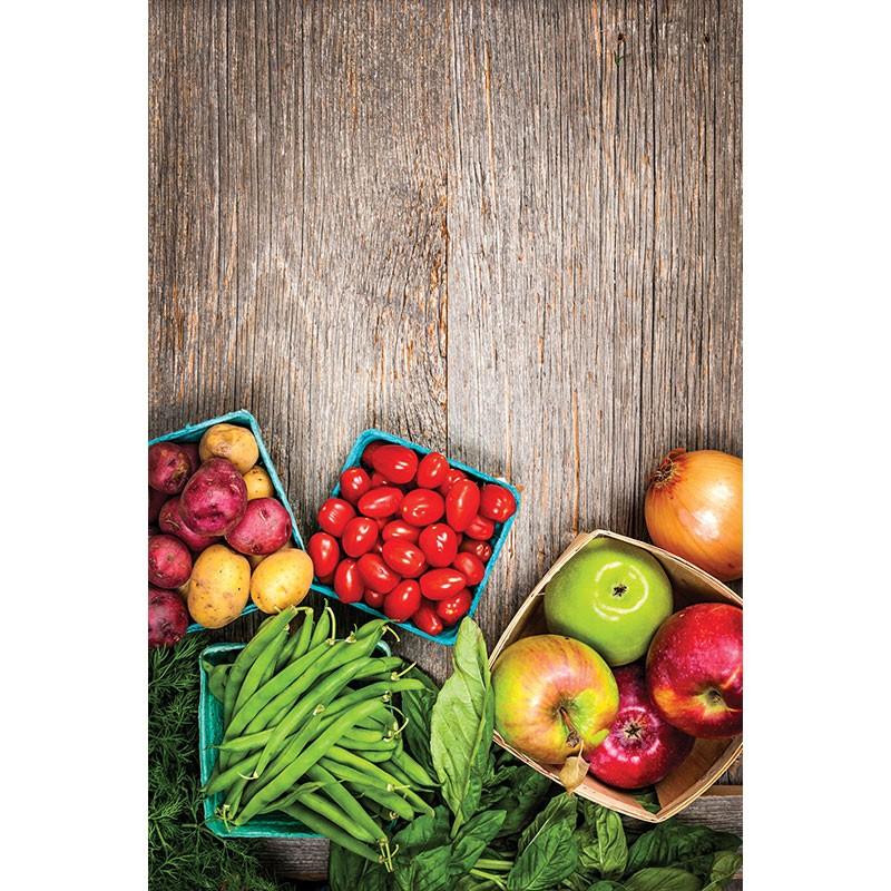 Adesivo para Interruptor Frutas e Legumes