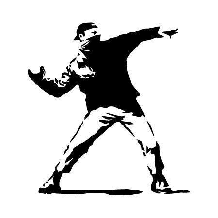 Adesivo para Notebook Banksy II