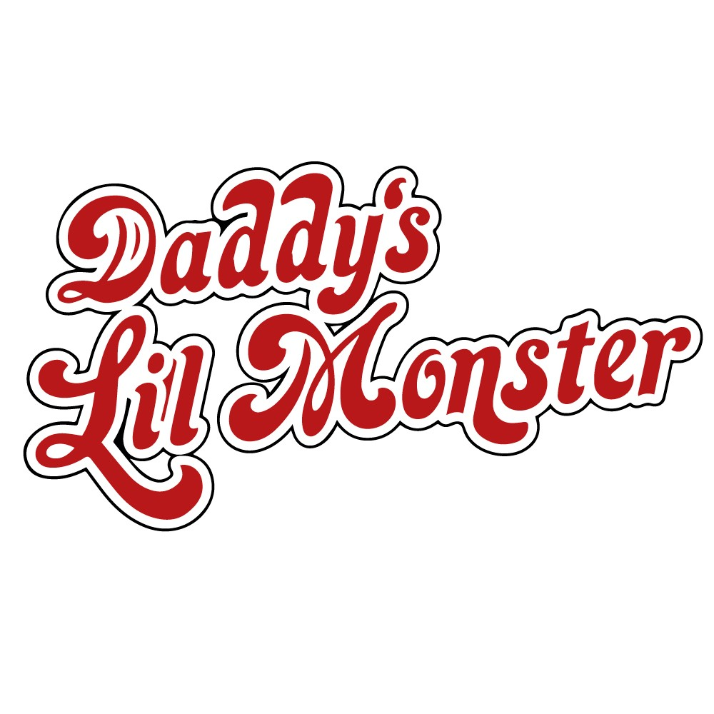 Adesivo para Notebook Daddys Lil Monster Suicide Squad
