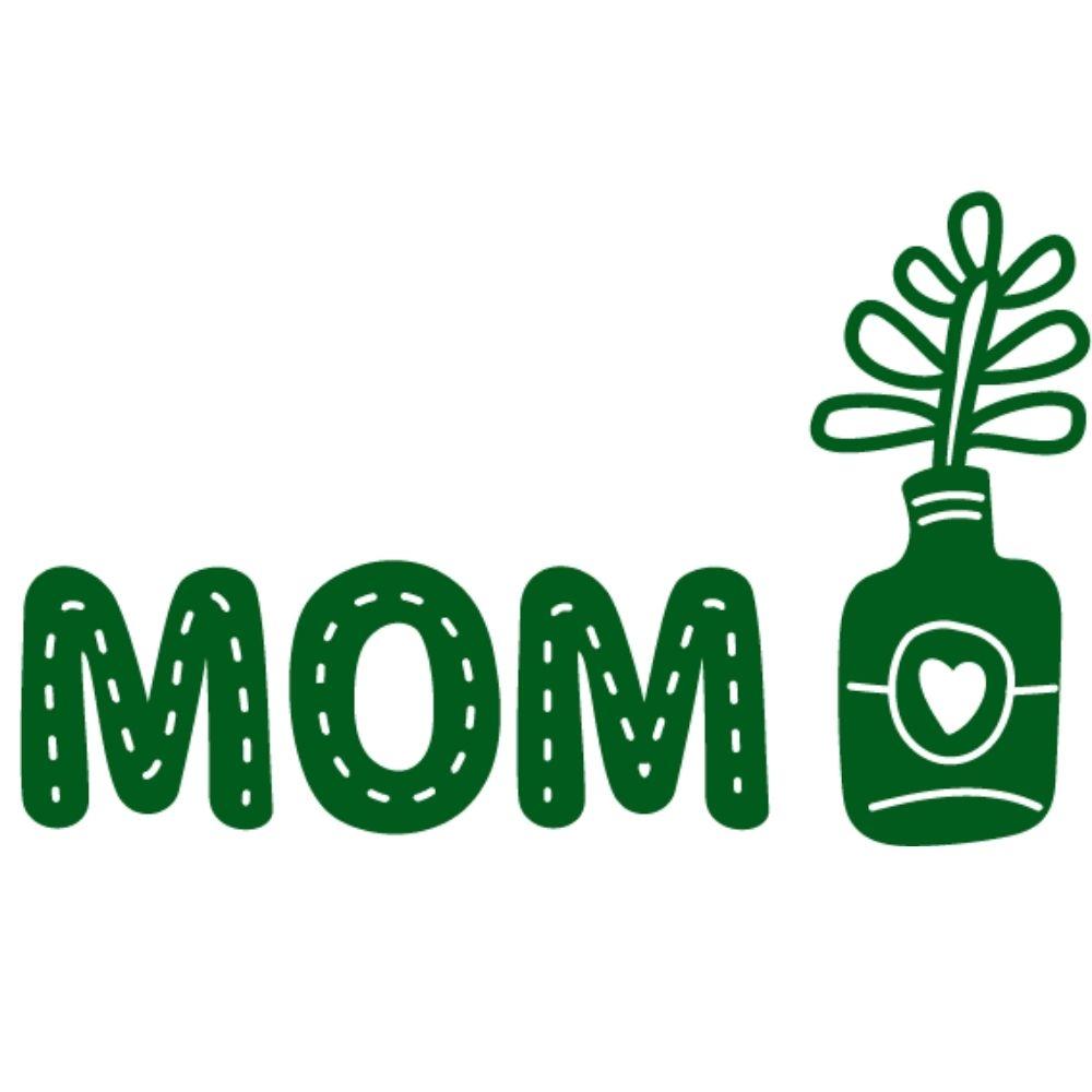 Adesivo para Notebook Mom Plantinha