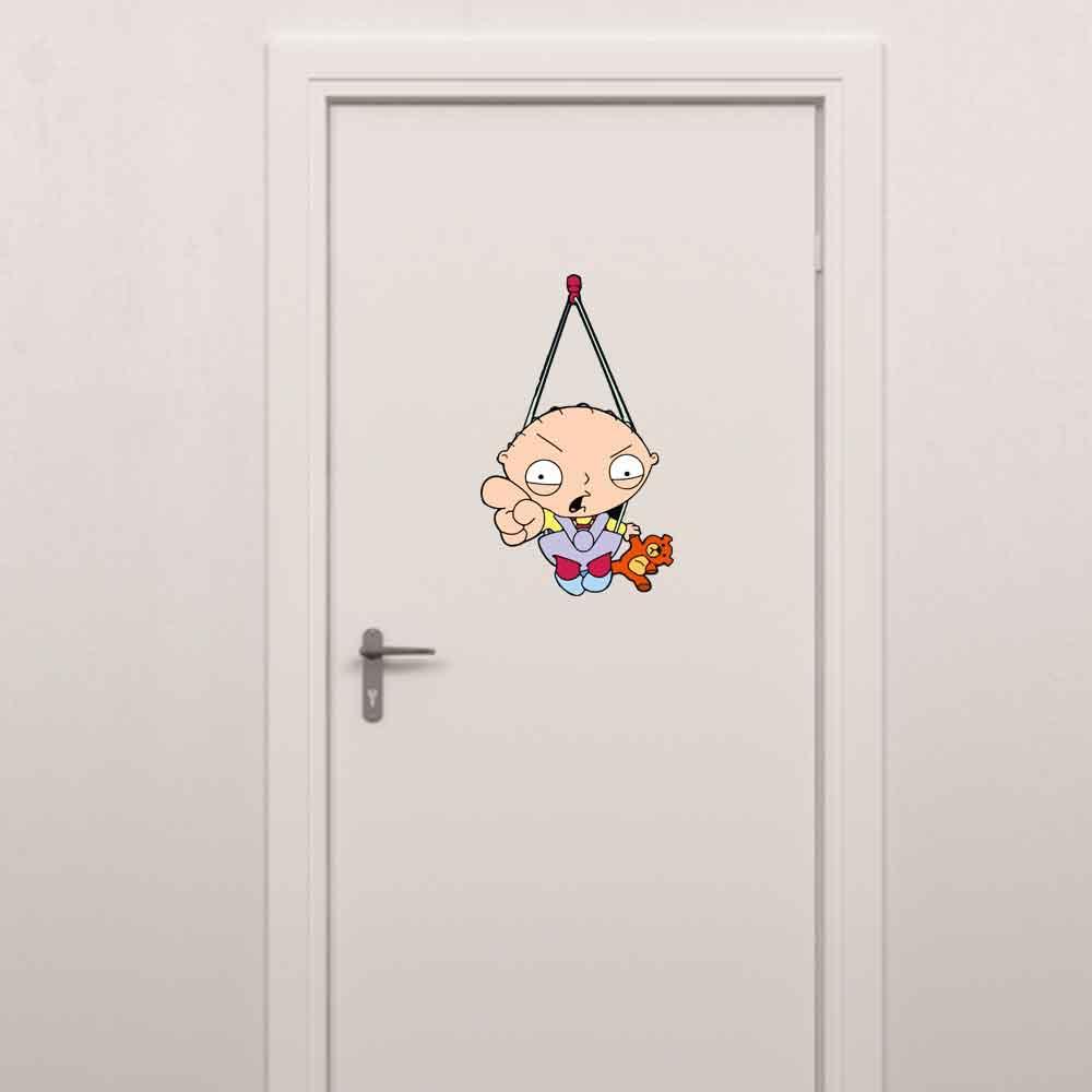 Adesivo para Porta Stewie Griffin Nervoso