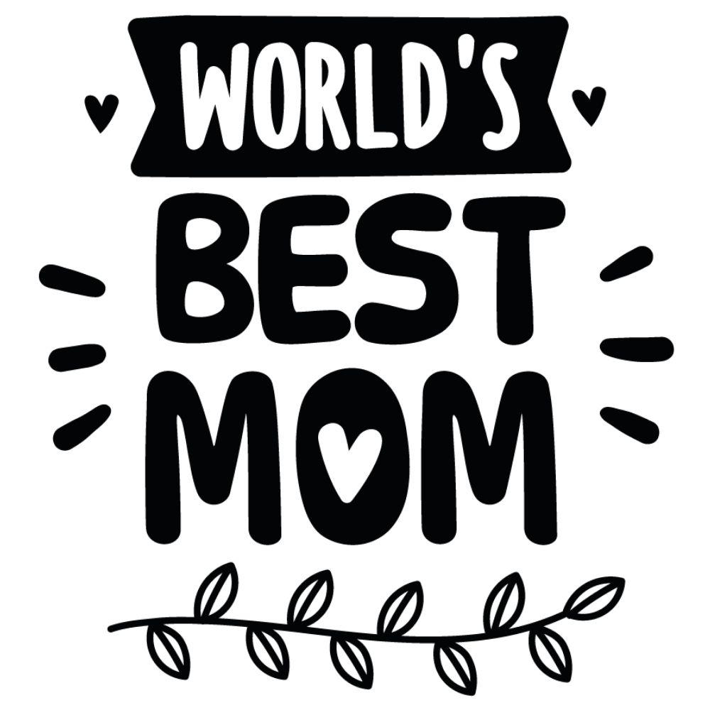 Adesivo Parede World's Best Mom