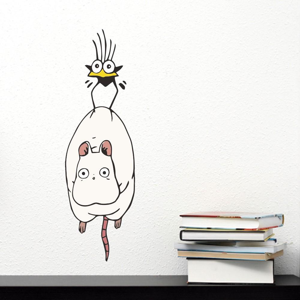 Adesivo Rato e Pássaro A Viagem de Chihiro