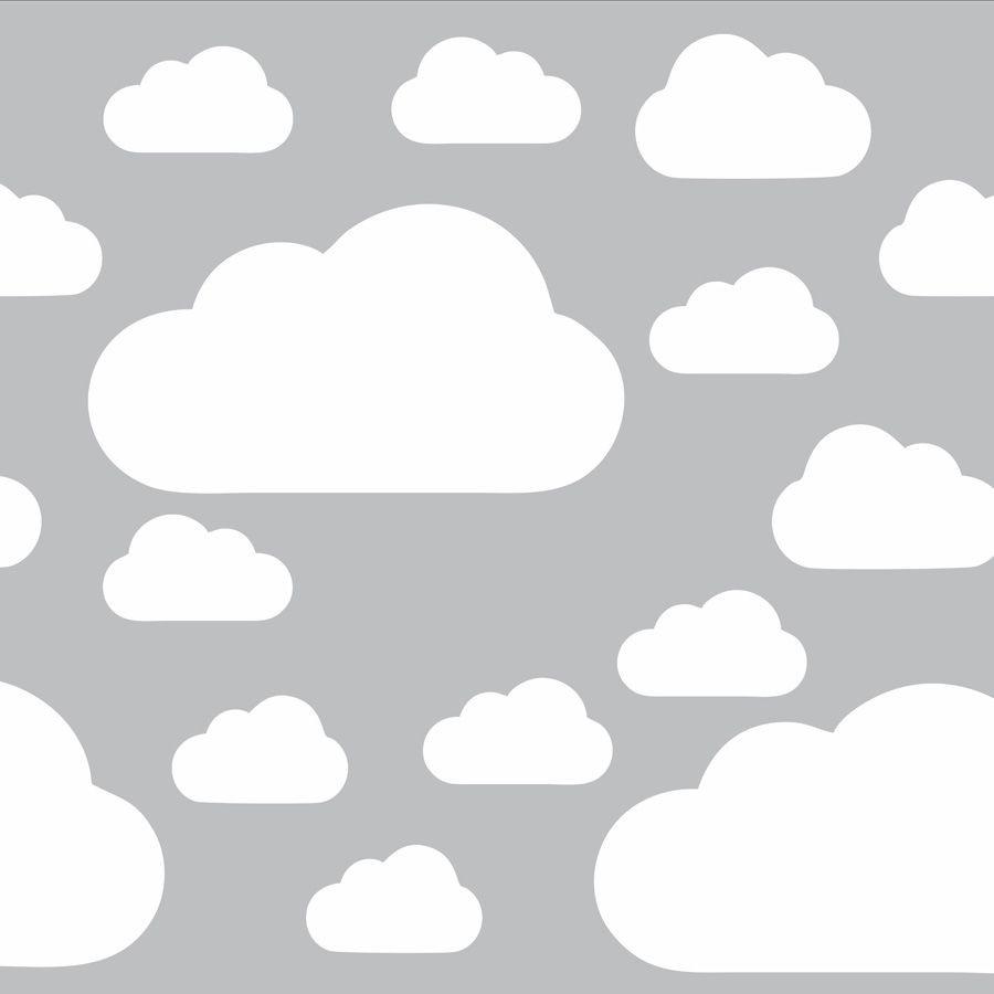 Adesivos Nuvens Kits com 30 ou 50 unidades