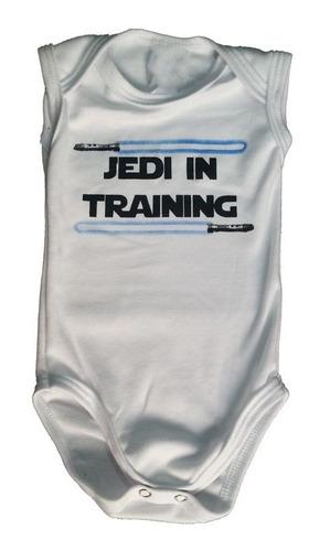 - Body Bebê Verão Sem Manga - Jedy In Training Star Wars