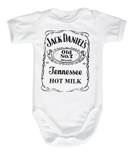 - Body Divertido Para Bebês- Jack Daniel's - 100% Algodão