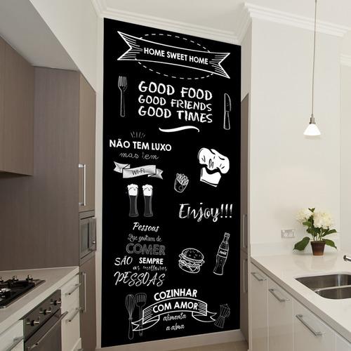 Chalkboard Para Cozinha Personalizável