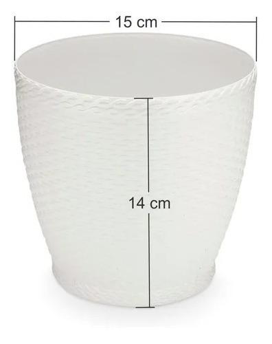 Floreira De Macramê 40 cm