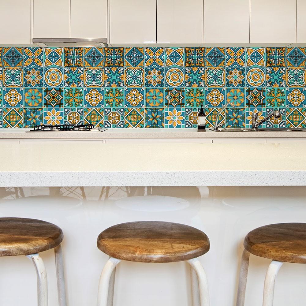 KIT Adesivos de Azulejo Islã
