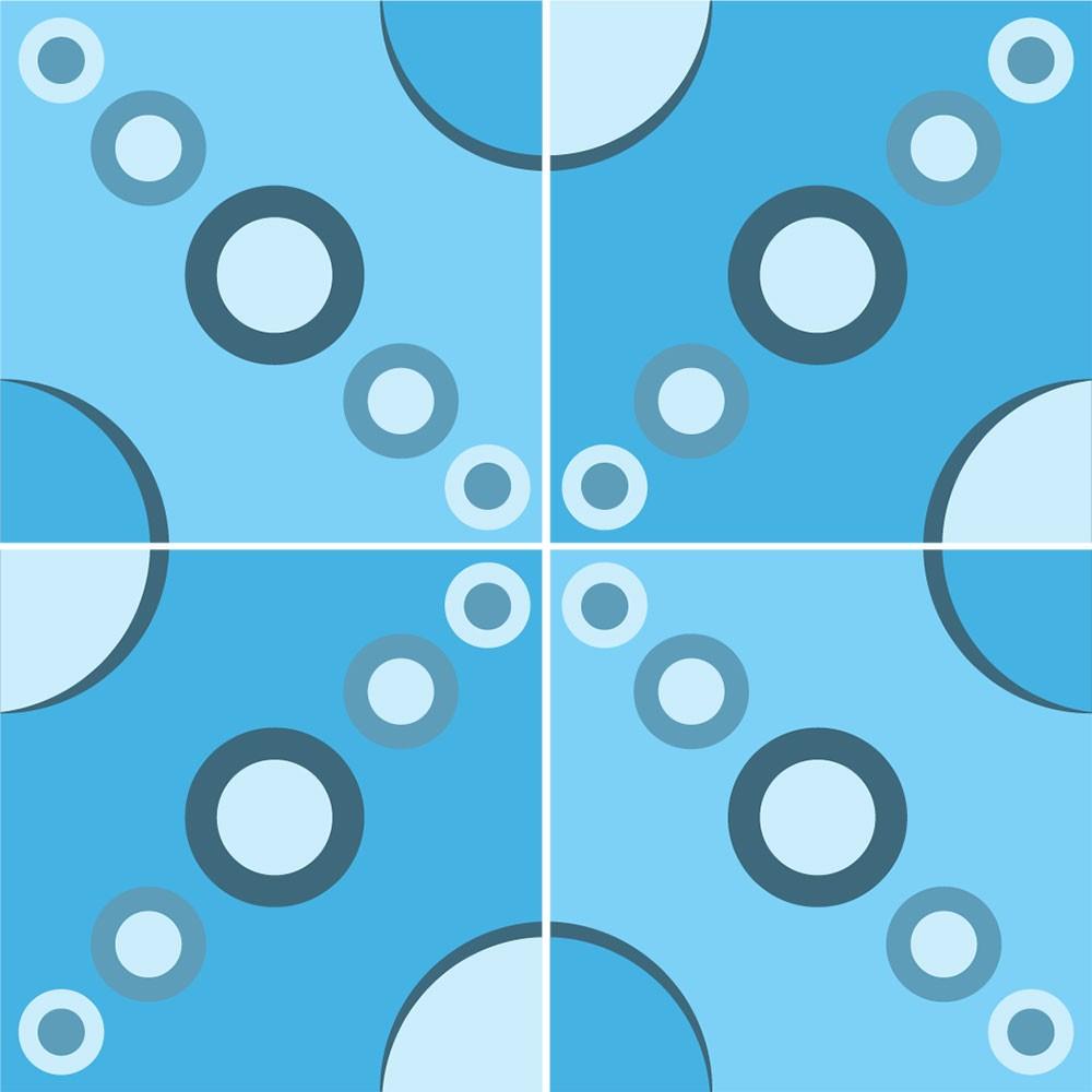 KIT Adesivos de Azulejo X-Ball