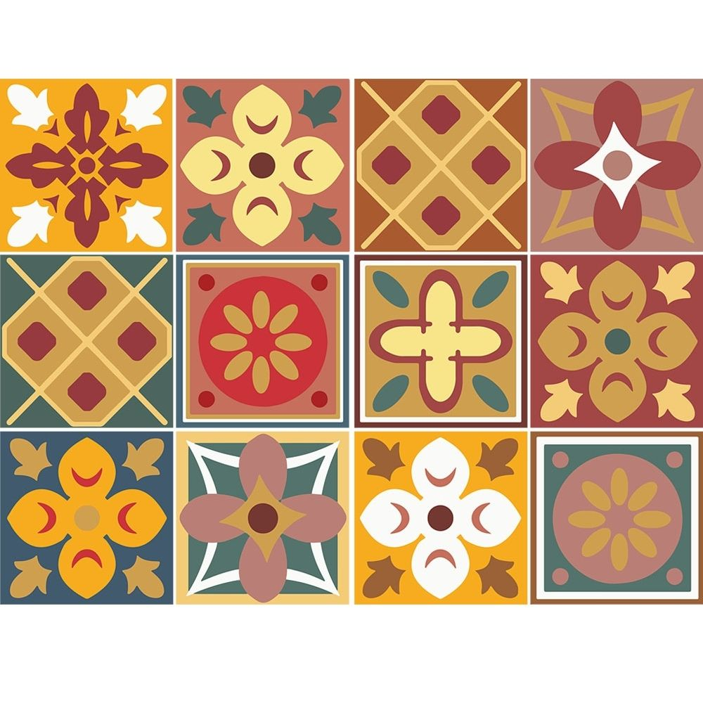 KIT Adesivos de Azulejos Aconchego