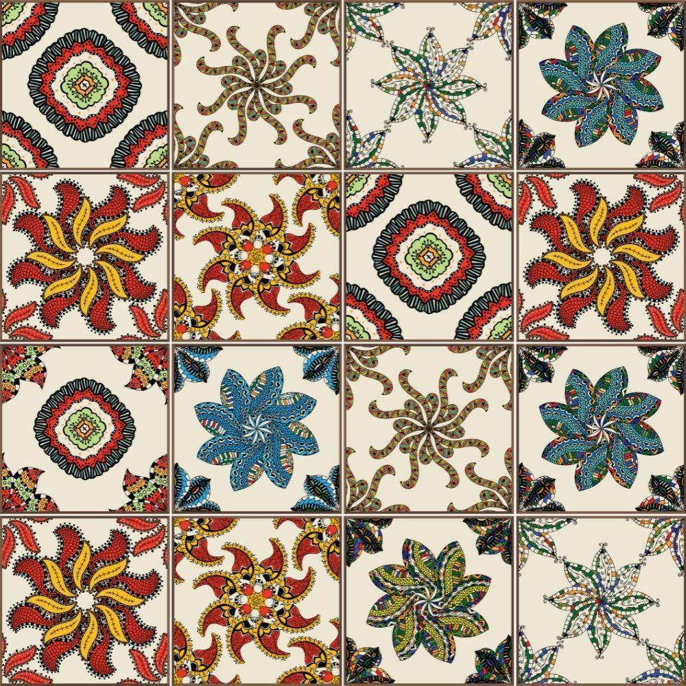 KIT Adesivos de Azulejos Africa