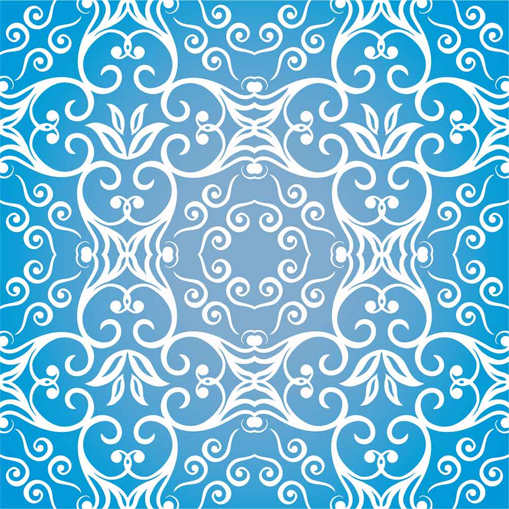 KIT Adesivos de Azulejos Azul Grego