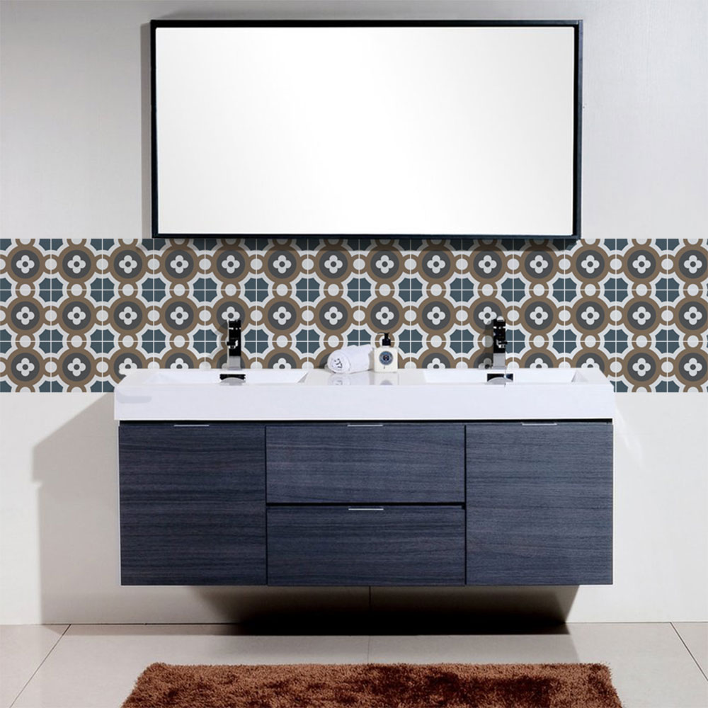 KIT Adesivos de Azulejos Ball Bathroom