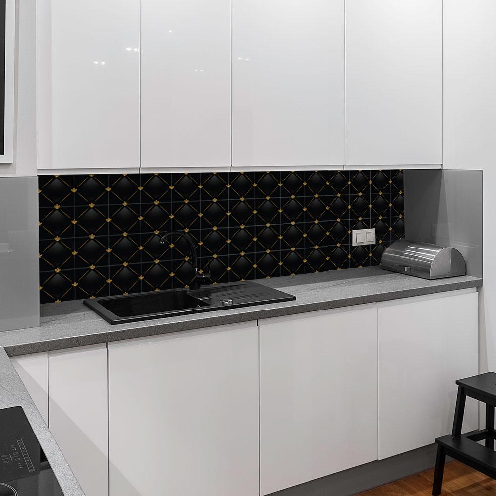 KIT Adesivos de Azulejos Black Lux