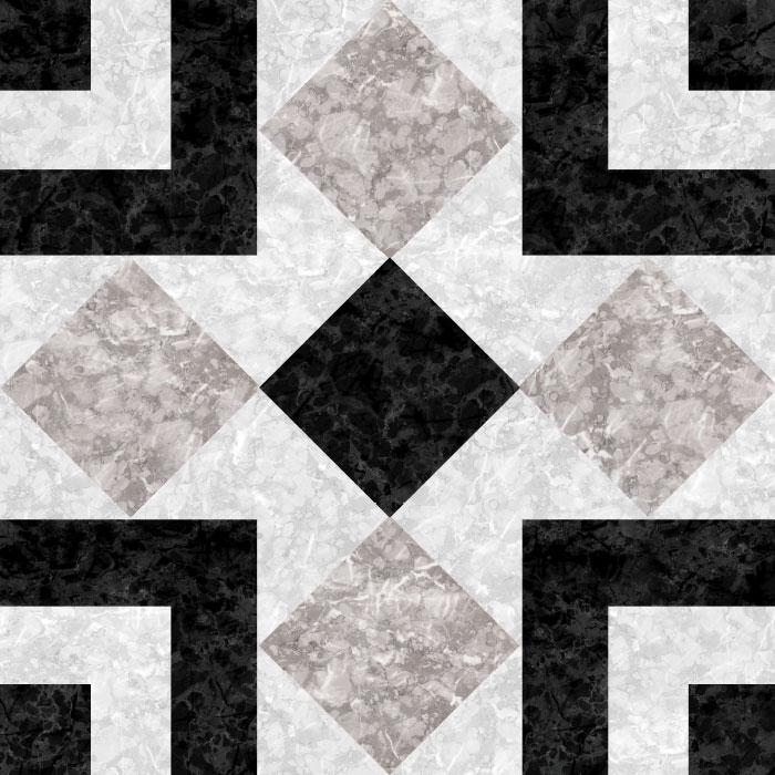 KIT Adesivos de Azulejos Black Mosaic