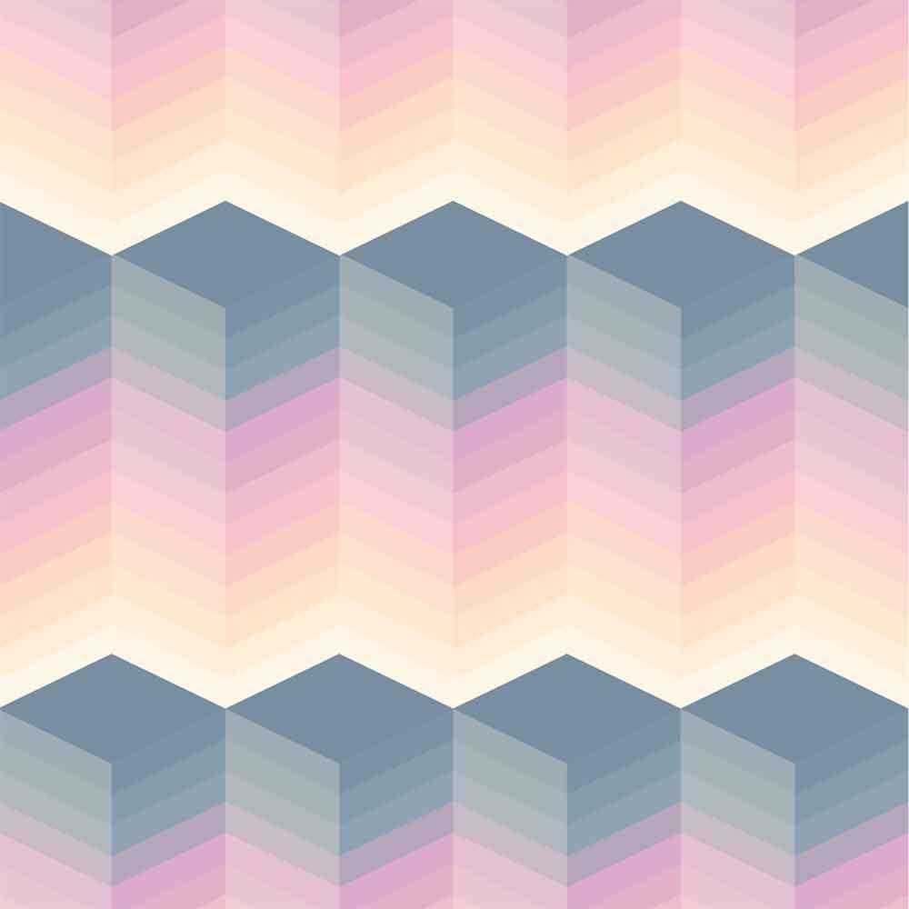 KIT Adesivos de Azulejos Blocos 3Ds