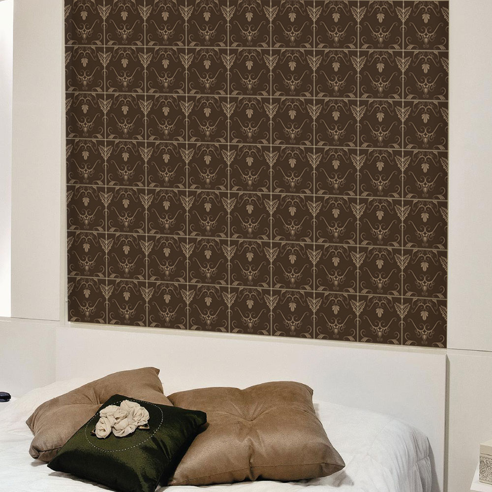 KIT Adesivos de Azulejos Brown Majestic