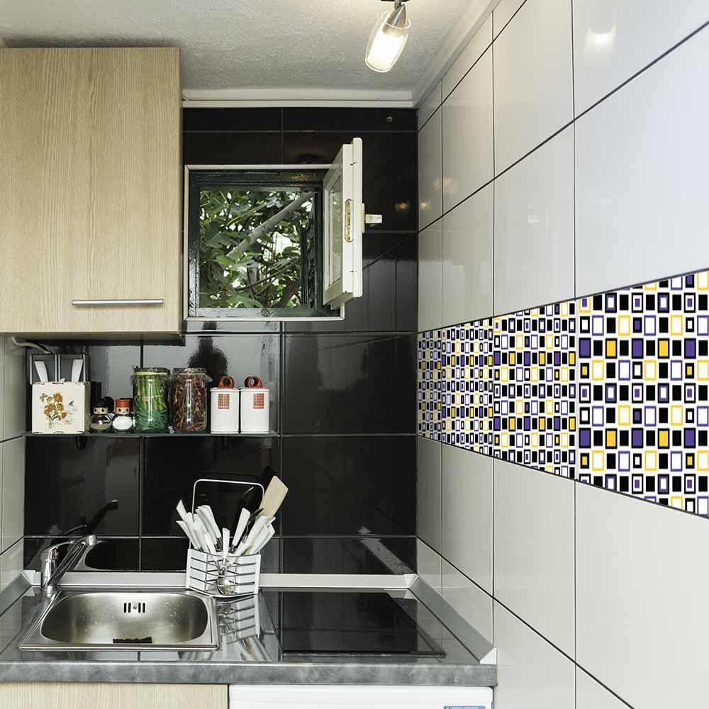 KIT Adesivos de Azulejos Caixotes