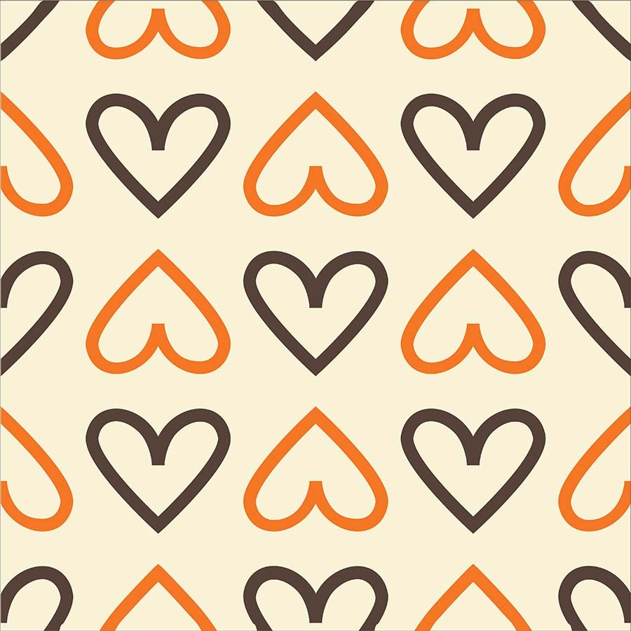 KIT Adesivos de Azulejos Corações 3