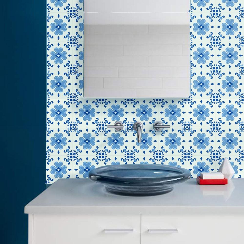KIT Adesivos de Azulejos GrandBlue