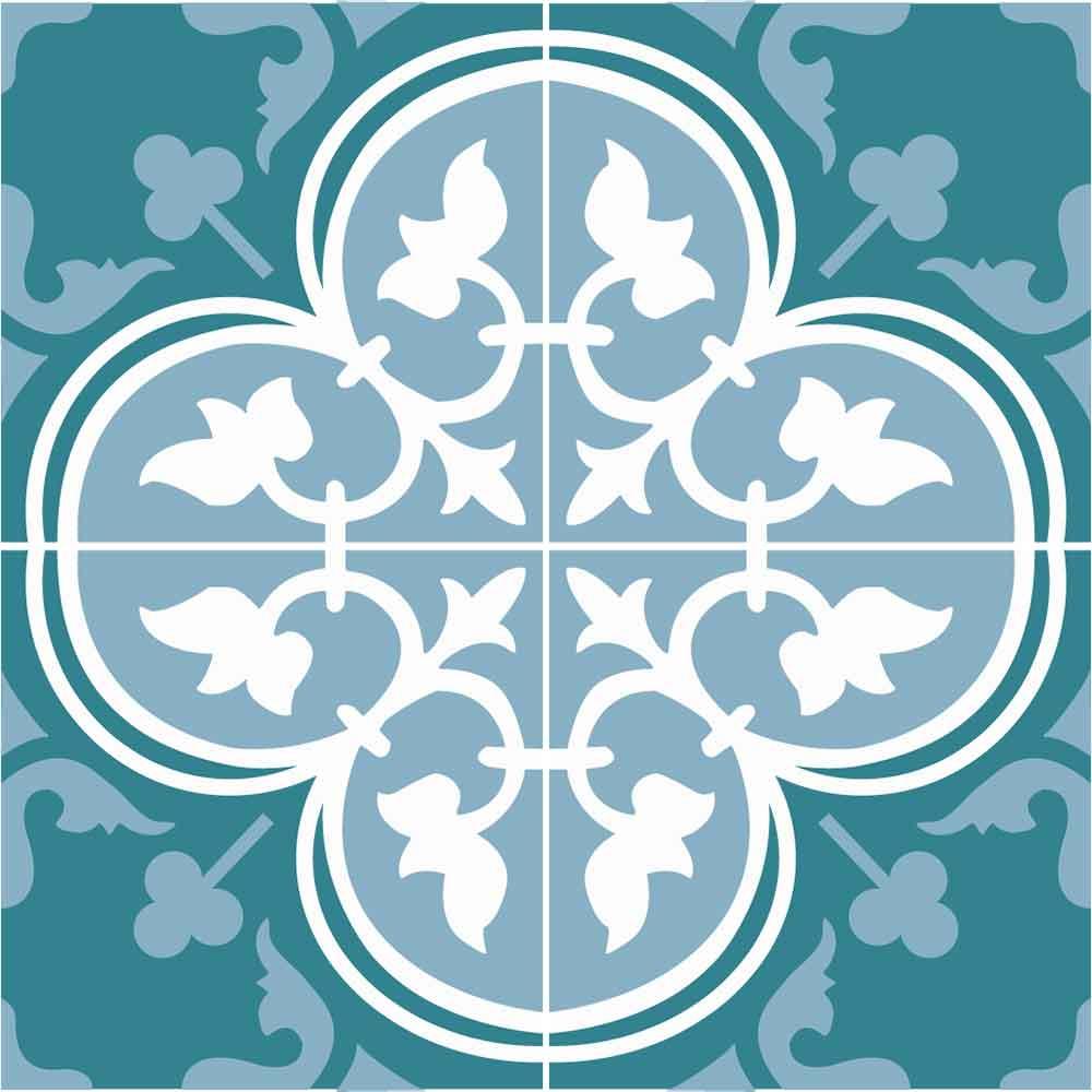 KIT Adesivos de Azulejos Imperial Banheiro
