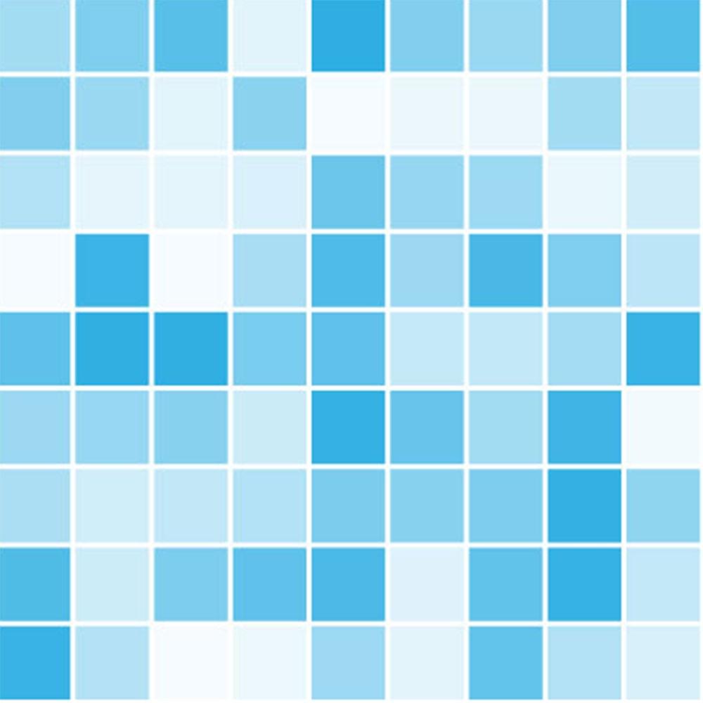 KIT Adesivos de Azulejos Ladrilhos Azul