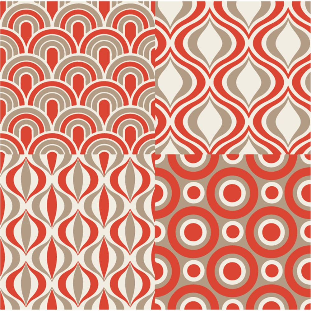 KIT Adesivos de Azulejos Laranja