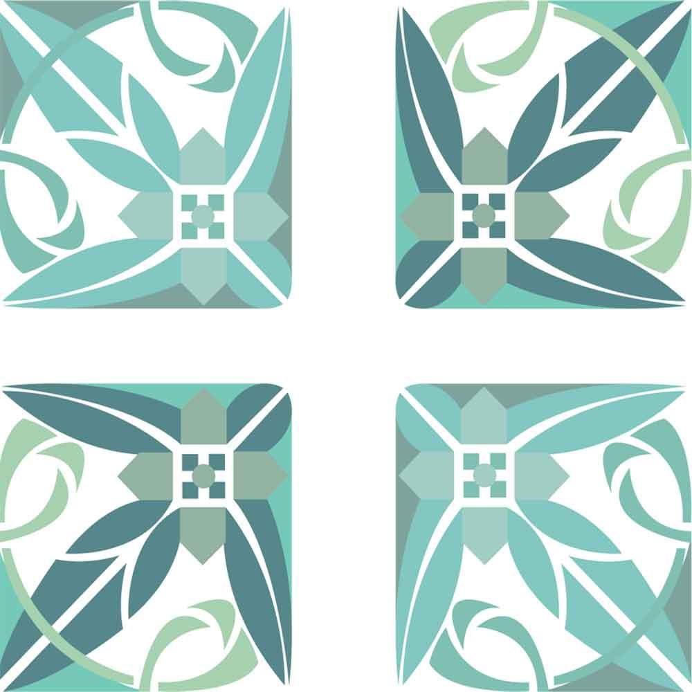 KIT Adesivos de Azulejos Light Arrow