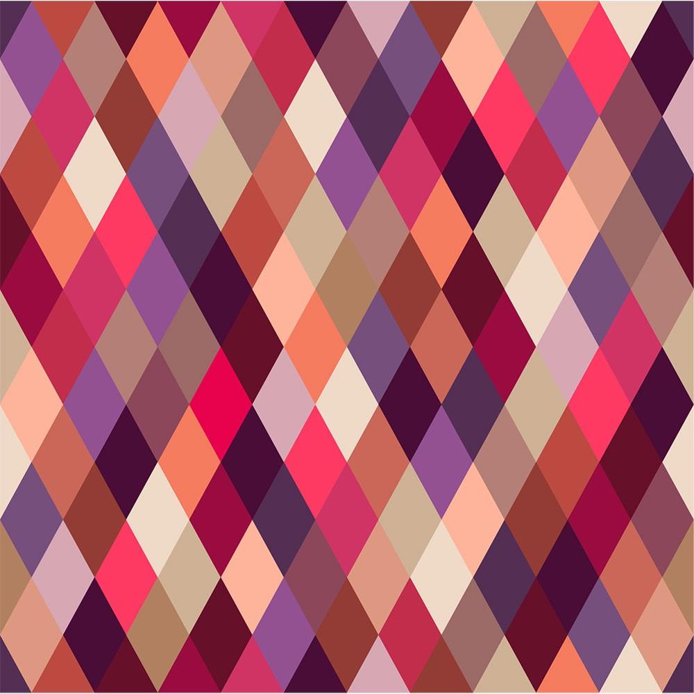 KIT Adesivos de Azulejos Losangos Coloridos