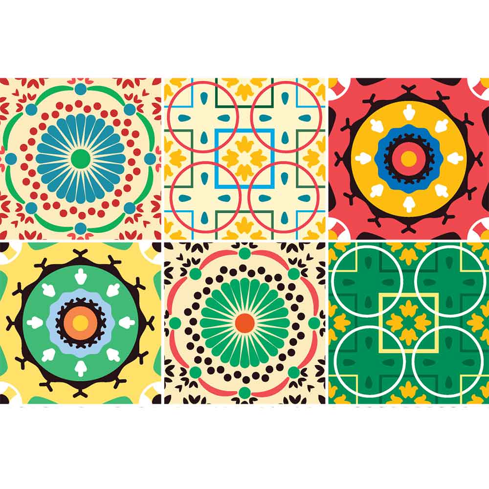KIT Adesivos de Azulejos Ludicrous