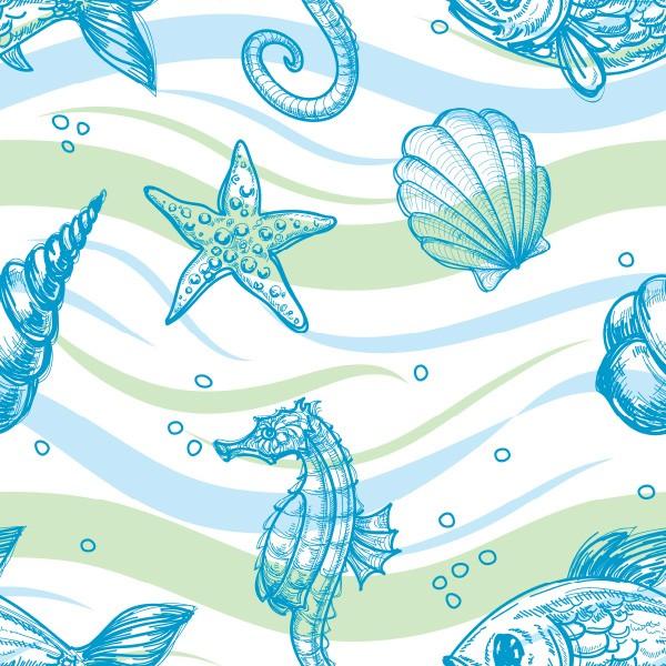 KIT Adesivos de Azulejos Marine